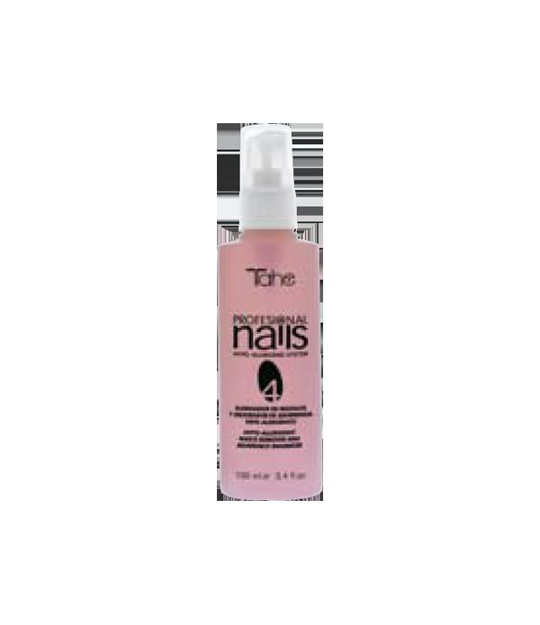 Tahe Professional Nails N° 4 eliminador de residuos y mejorador de adherencia para tratamiento de uñas