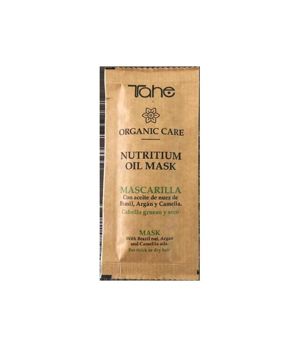 Tahe Organic Care Mascarilla Nutritium para cabellos gruesos y secos 10 ml