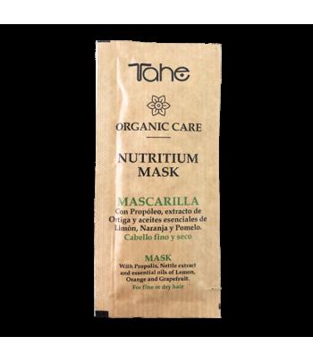 Tahe Organic Care Mascarilla Nutritium para cabellos finos y secos 10 ml