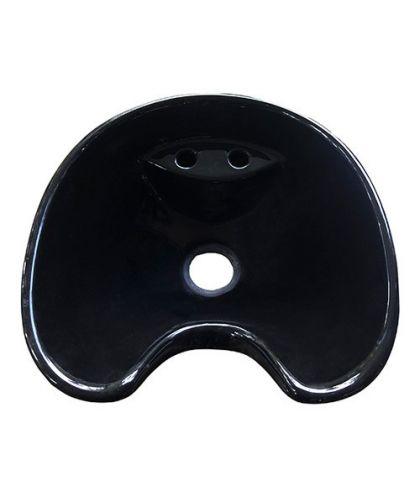 BM-1 Cerámica Lavapelo Negro Prisma