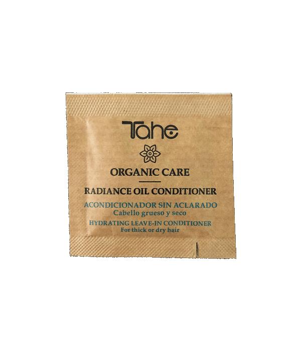 Tahe Organic Care Radiance Oil Acondicionador para cabellos gruesos y secos 2 ml