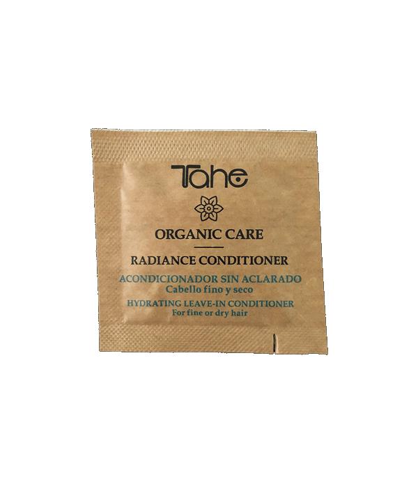 Tahe Organic Care Radiance Conditioner para cabellos finos 2 ml.