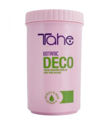 Tahe Botanic Decoloración Sin Amoniaco 500grs Bote Plástico