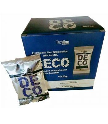 Techline - Decol. Azul Monodosis 25gr.