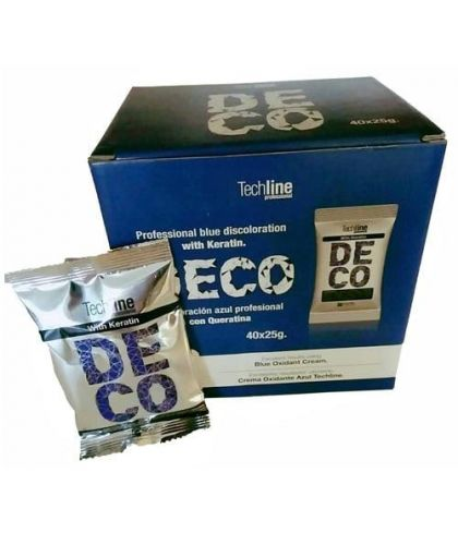 Techline Decoloración Azul Monodosis 25 grs